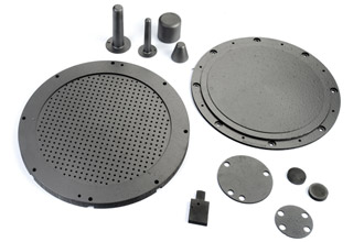 Pyrolytic graphite plates, shapes and CVD coatings
